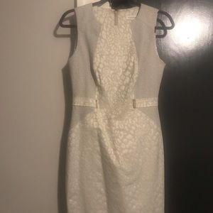 Calvin Klein leopard print dress